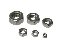 Marine-Grade A4 stainless steel metric nuts