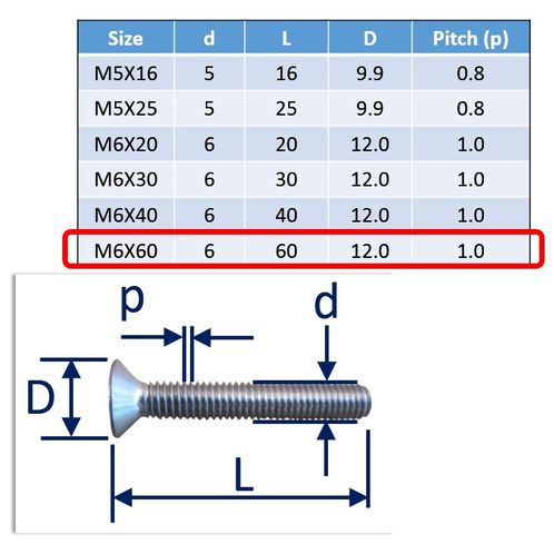 Stainless Steel Countersunk Socket Set Screws image #12