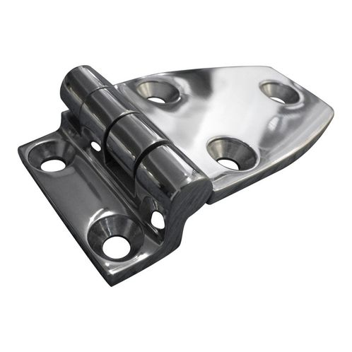Stainless Steel A4 (316) Offset Hinge, Marine & Sailing, Door, Locker, Cabinet 70x38mm image #1
