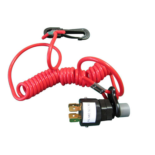 Marine Electrical Kill Switch. Safety Cut Out System. Emergency Engine Stop image #1