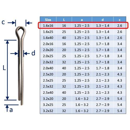 Split Pins / Split Cotter Pins image #1