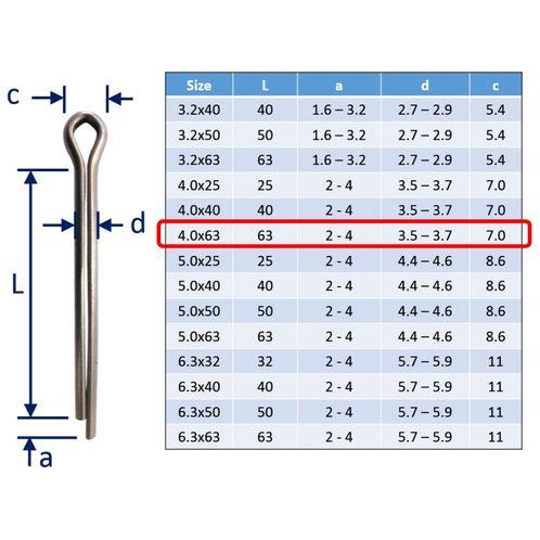 Split Pins / Split Cotter Pins image #21