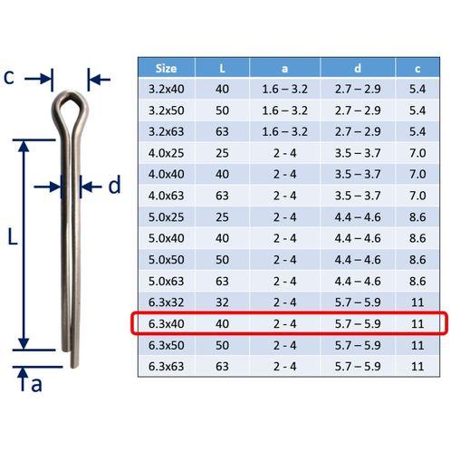 Split Pins / Split Cotter Pins image #27
