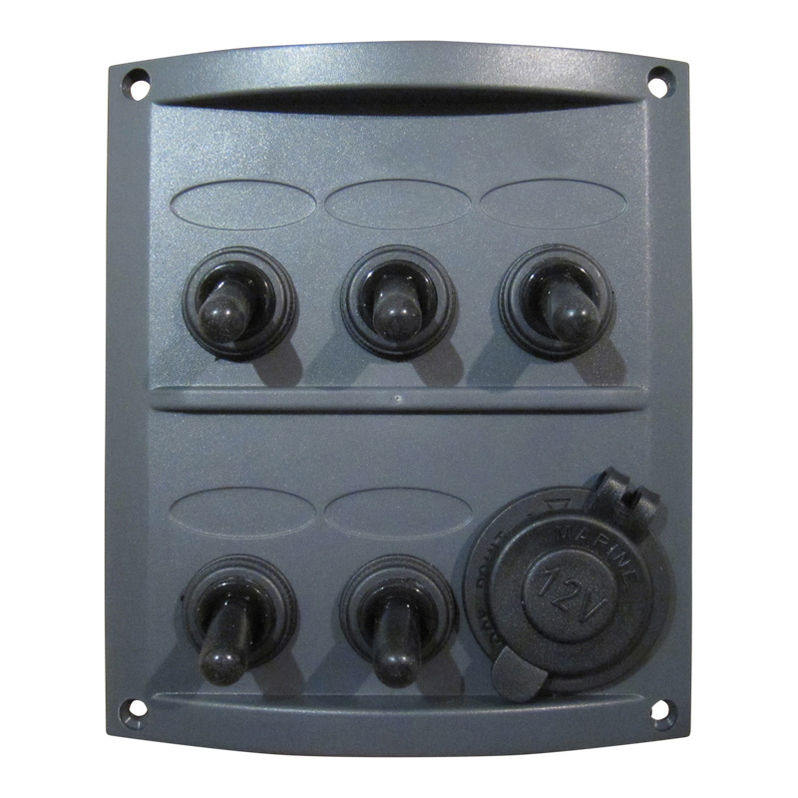 5-Gang Marine Electrical Switch Panel | Boat ings on