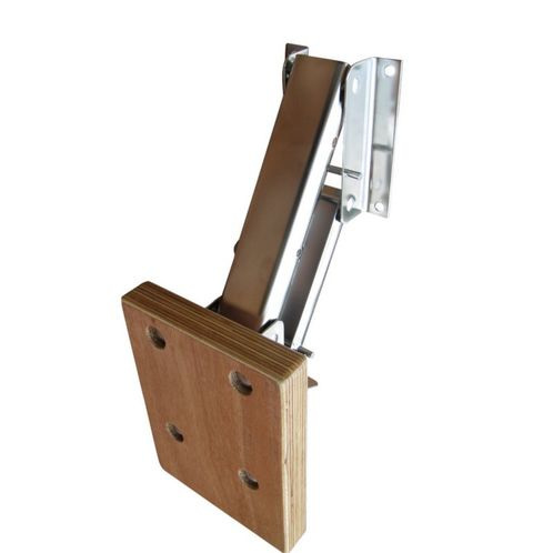 Outboard Motor Mounting Bracket With Wooden Plate image #