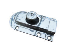 Polished Door Latch, Magnetic Spring Slide Operation
