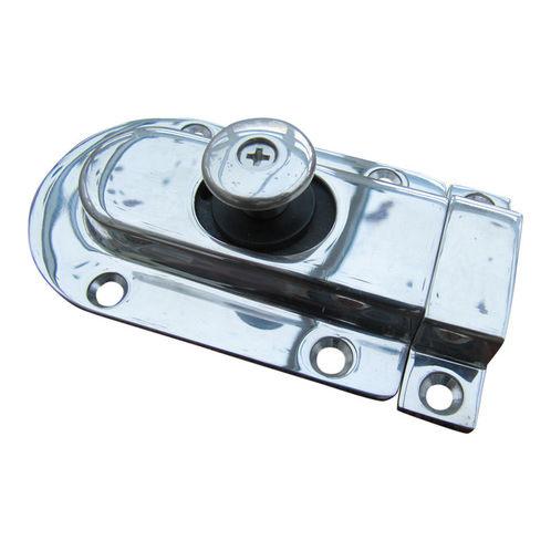Polished Door Latch, Magnetic Spring Slide Operation image #