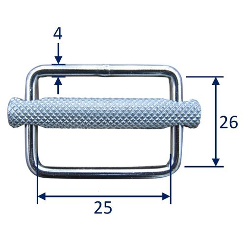 Stainless Steel Strap Buckle / Strap Slide, in 316 Stainless Steel image #1