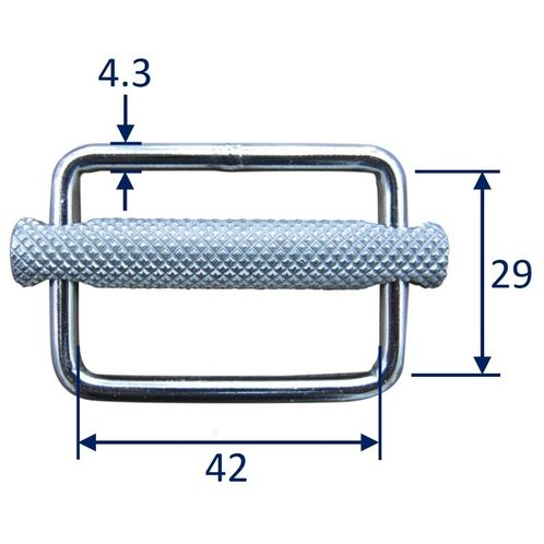 Stainless Steel Strap Buckle / Strap Slide, in 316 Stainless Steel image #2