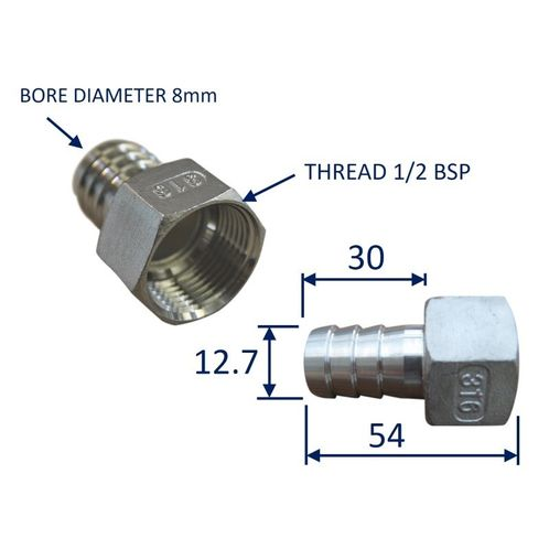 Stainless Steel Pipe Fitting With Internal Thread (BSP) image #2