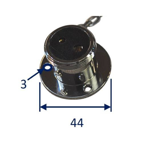 Boat Waterproof Electrical Connector, 5A 2-Pole & 3-Pole image #1