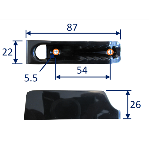 Fairlead Cam Cleat (CL231) image #