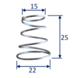 Block Support Springs (pair) image #2
