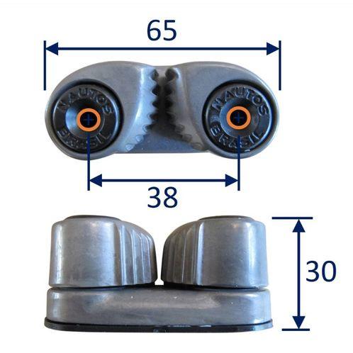 Aluminium Cam Cleat (HT91035) image #