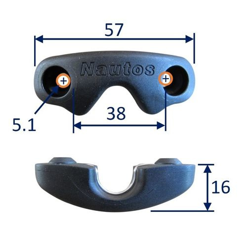 Cam Cleat Fairlead (HT91054) image #