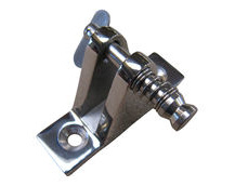Deck Hinge With Removable Pin For Spray Hoods & Canopies