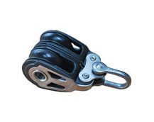 Holt Double Pulley Block, Sailing / Marine Use, With Ball Bearings