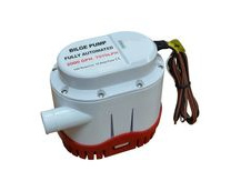 Automatic Bilge Pump, 2000 Gallons Per Hour, 12V, Submersible