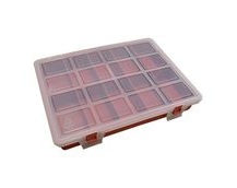Plastic Kit Box, 240x180x35mm External Size, 10 Compartment