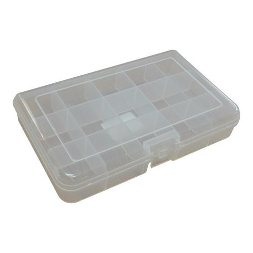 Plastic Kit Box, 165x100x31mm External Size, 15 Compartment  image #