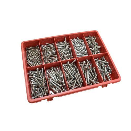 Kit Box Of 316 Stainless Posi-Drive Self Tapping Screws: Larger Sizes  image #