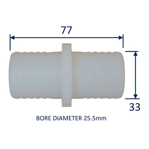 Plastic Straight Connector / Hose Joiner image #5