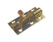 Brass Marine Latch Bolt 38mm / Barrel Bolt / Boat Locker Latch