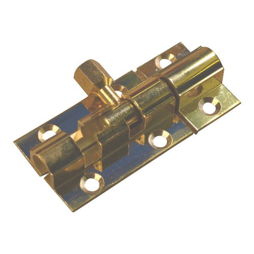 Brass Marine Latch Bolt 38mm / Barrel Bolt / Boat Locker Latch image #