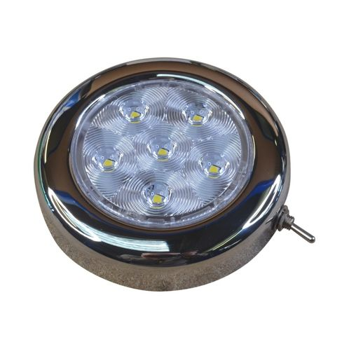 Boat LED cabin light / ceiling light with switch image #1