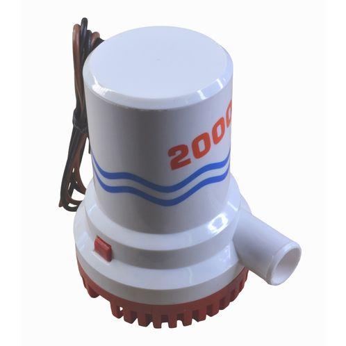 Bilge Pump, 2000 Gallons Per Hour, 12V, Submersible image #1