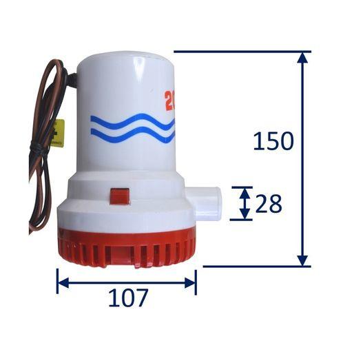 2000 GPH Bilge Pump