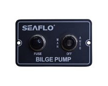 Bilge pump switch panel