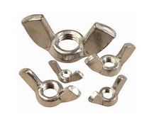stainless steel wing-nut