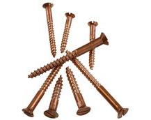 bronze wood screw