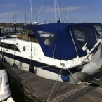 Fairline Mirage: Our first motor boat was a...