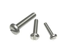 Set-Screws Slot Pan-Head Stainless Steel (316) A4-Marine Grade