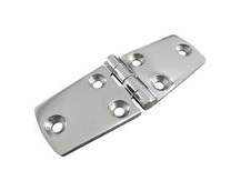 Stainless Steel A4 (316) Door Hinge, Marine & Sailing, Door, Locker, Cabinet 100x38mm