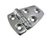 Stainless Steel A4 (316) Door Hinge, Marine & Sailing, Door, Locker, Cabinet 56x38mm