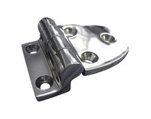 Stainless Steel A4 (316) Offset Hinge, Marine & Sailing, Door, Locker, Cabinet 56x38mm
