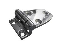 Stainless Steel A4 (316) Offset Hinge, Marine & Sailing, Door, Locker, Cabinet 70x38mm