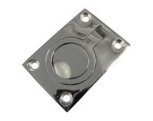 Stainless Steel A4 (316) Flush Lifting Ring, Marine & Sailing, Door, Locker