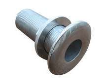 Boat Hull Skin Fitting, Pipe Inlet / Outlet 316 Stainless Steel