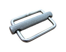 Stainless Steel Strap Buckle / Strap Slide, in 316 Stainless Steel