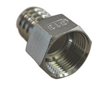 Stainless Steel Pipe Fitting With Internal Thread (BSP)