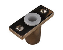 Oarlock / Rowlock Socket, In Stainless Steel, Top Mounted (Pair)