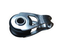 Small fixed pulley block with 20mm sheath, and roller bearings