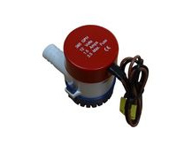 12V Bilge Pump, 350 Gallons Per Hour, Submersible.
