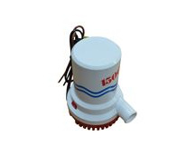 Bilge Pump, 1500 Gallons Per Hour, 12V, Submersible