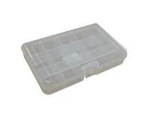 Plastic Kit Box, 165x100x31mm External Size, 15 Compartment