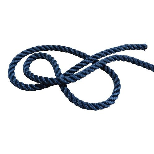 product image for Marine Rope, Polyester 3-Strand Navy Rope